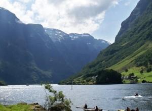 挪威西部世界闻名的峡湾