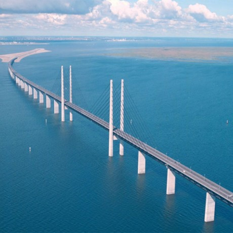 厄勒海峡大桥  Oresund Bridge4