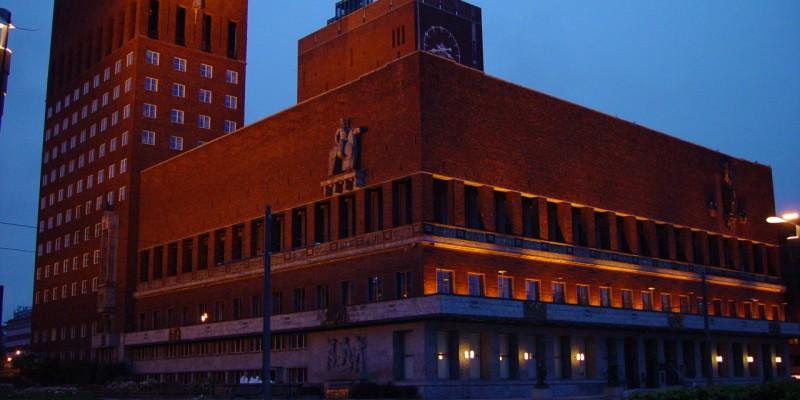 奥斯陆市政厅 Oslo rådhus