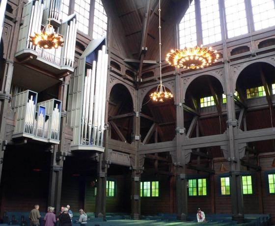 基律纳大教堂Kiruna kyrka (3)