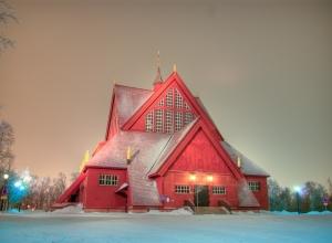 基律纳大教堂Kiruna kyrka (1)