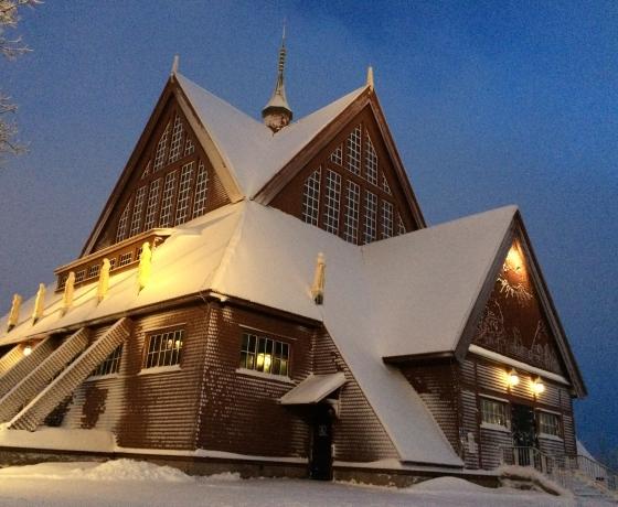 基律纳大教堂Kiruna kyrka (5)