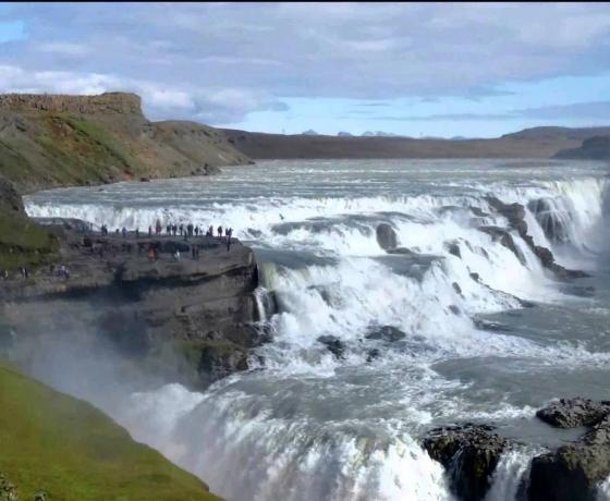黄金瀑布 Gullfoss (1)