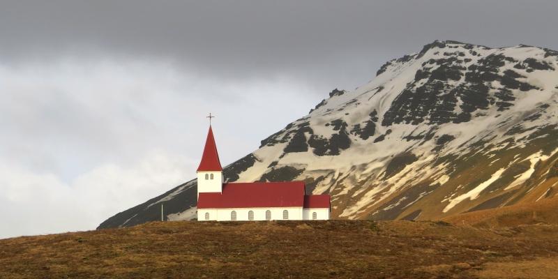 维克镇教堂Vik Church (4)