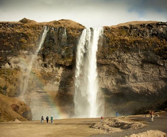 塞里雅兰瀑布 Seljalandsfoss (4)